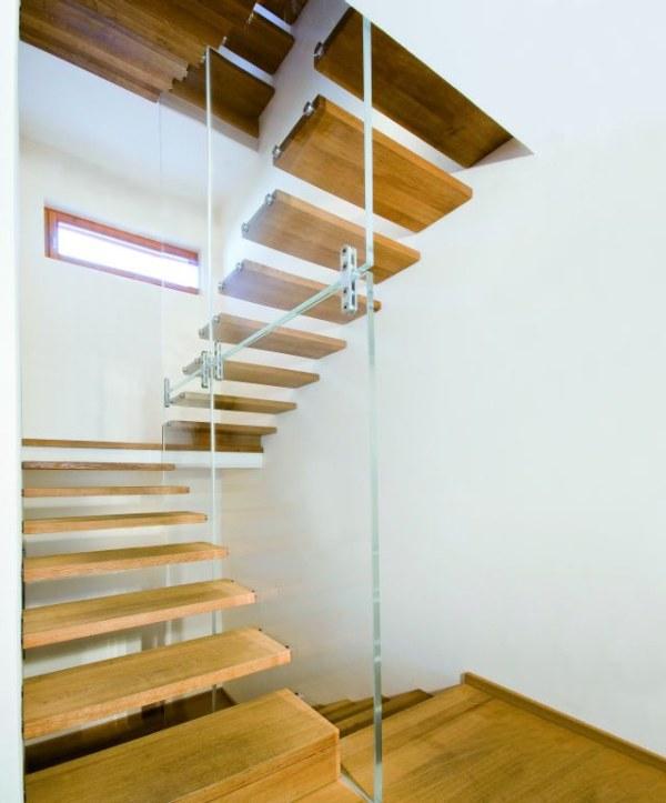 Design zwevende trap