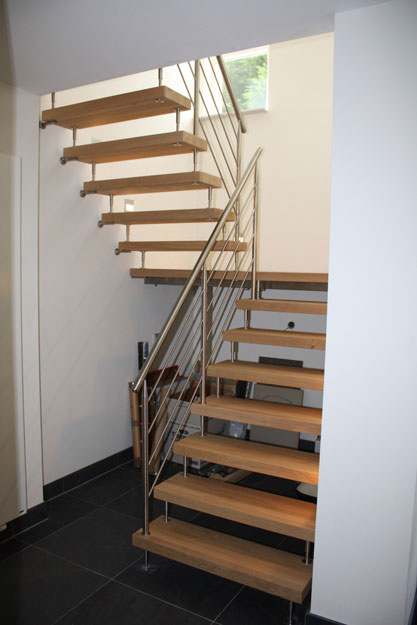 Moderne steek bordes steek trap