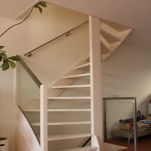 Moderne trap balustrade