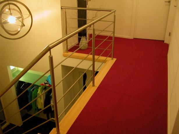 Moderne balustrade