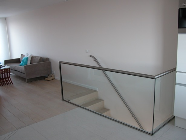 RVS met glas