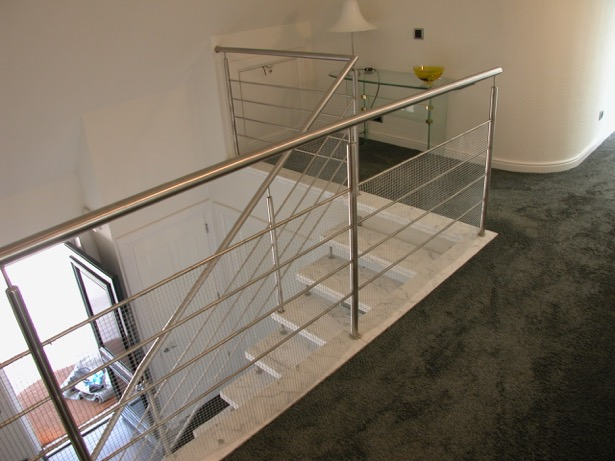 RVS balustrade