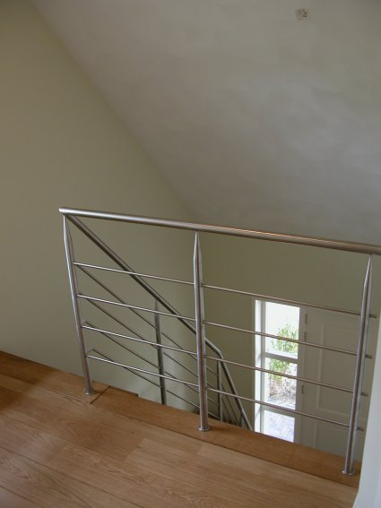 RVS vide balustrade