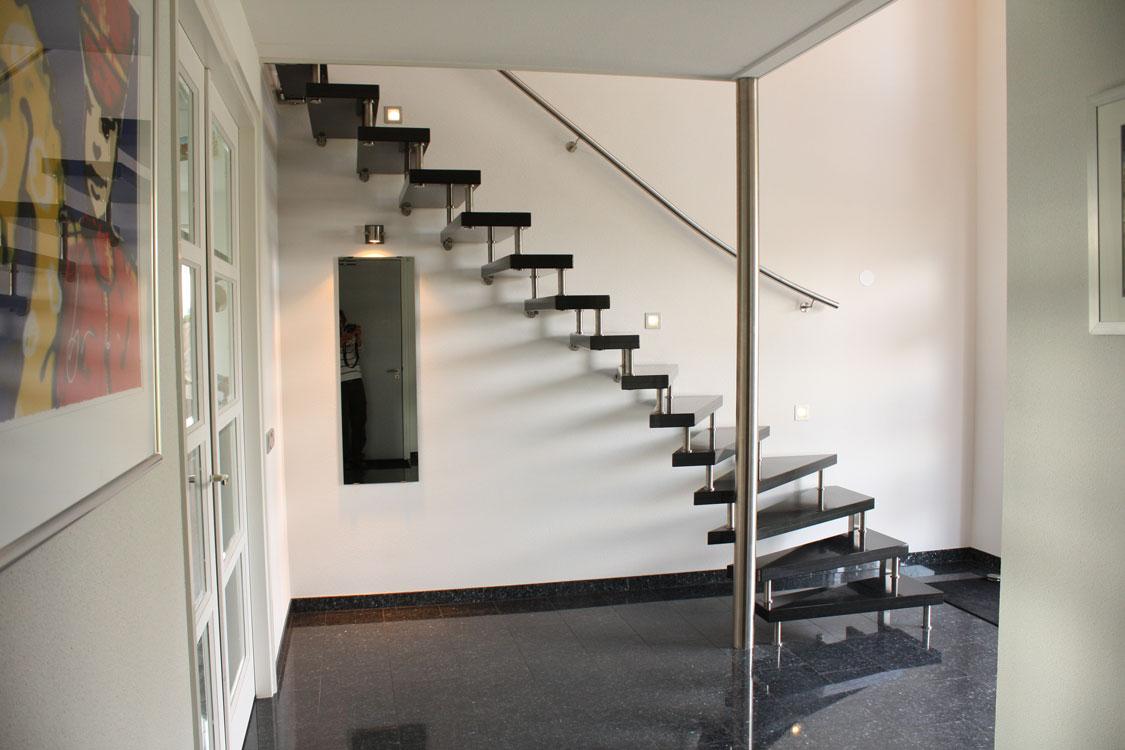 Vrijdragende onder kwart trap n64 kenngott for Kwart trap