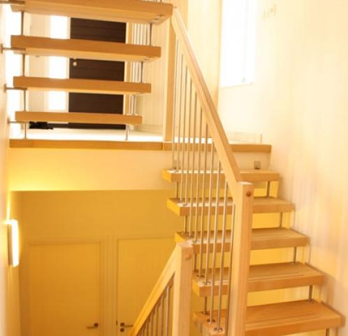 Eiken trap modern