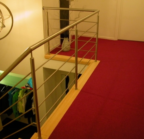 Moderne balustrade