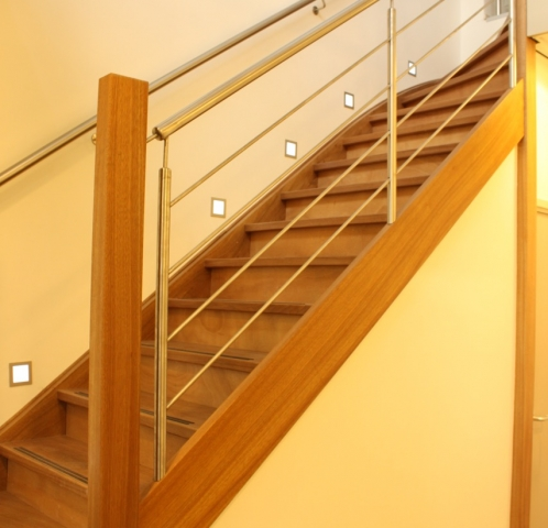 Modern RVS balustradwerk